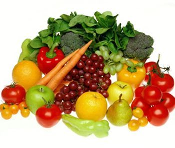 vitamina C cítricos y verduras