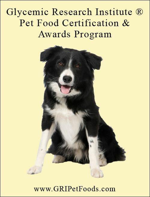 perro certificado alimento