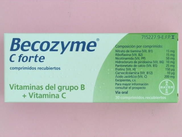 perro becozyme vitamina B