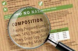 Verdades en la nutrición del perro (53): Los ingredientes de las etiquetas solo cuentan una parte de la historia